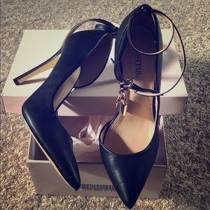 JustFab Audri Heels in Black!